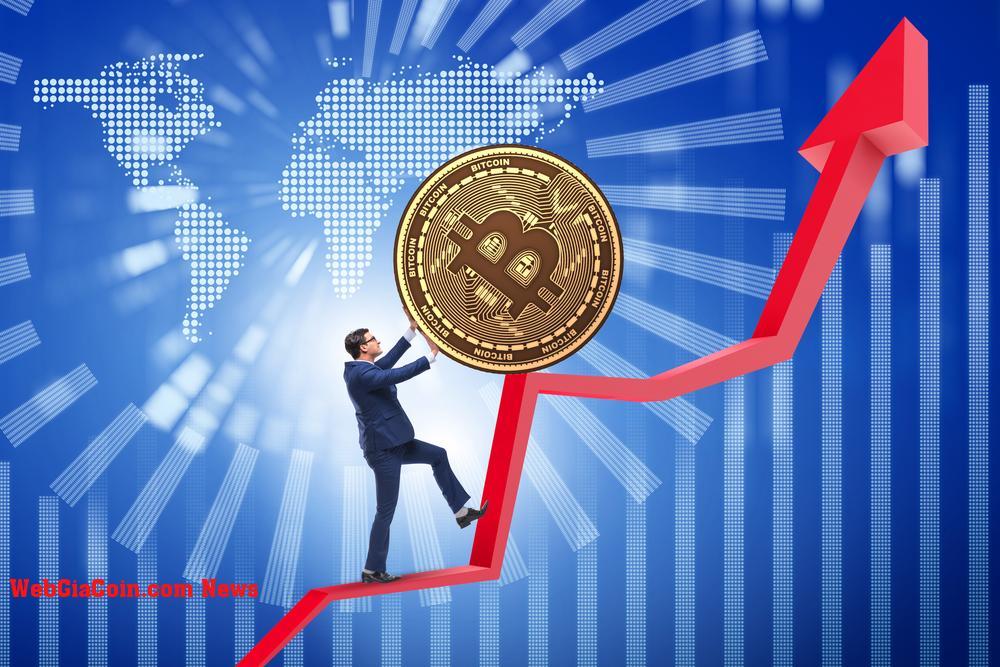 Bitcoin in mô hình tăng giá, tại sao đóng cửa trên $ 44k là rất quan trọng