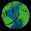 Biểu tượng logo của ERTH Token