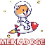 The MEDIADOGE MEDIADOGE icon symbol