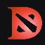 FomoDota FDOTA icon symbol
