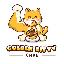 Golden Kitty Cake