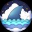 AutoShark DEX FINS icon symbol