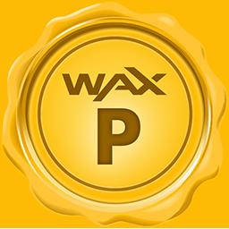 Biểu tượng logo của WAX
