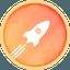 Biểu tượng logo của Rocket Pool