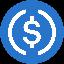 Biểu tượng logo của USD Coin