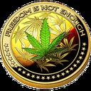 Biểu tượng logo của DopeCoin
