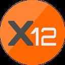 Biểu tượng logo của X12 Coin