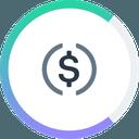Biểu tượng logo của Compound USD Coin