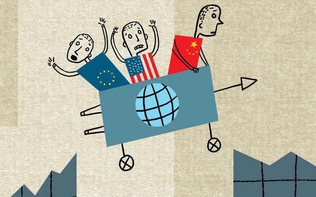 giá bitcoin: Triển vọng của nền kinh tế toàn cầu sẽ ra sao khi bị chia rẽ bởi bất ổn ở châu Âu, một nước Mỹ với chủ nghĩa dân tộc và sự bành trướng của Trung Quốc?