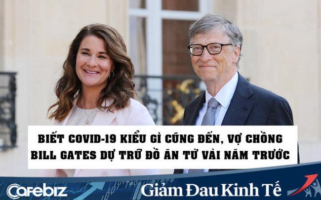 giá bitcoin: Vợ chồng Bill Gates đã tích trữ thực phẩm trong tầng hầm từ nhiều năm trước, vì đoán biết đại dịch như Covid-19 kiểu gì cũng xảy ra
