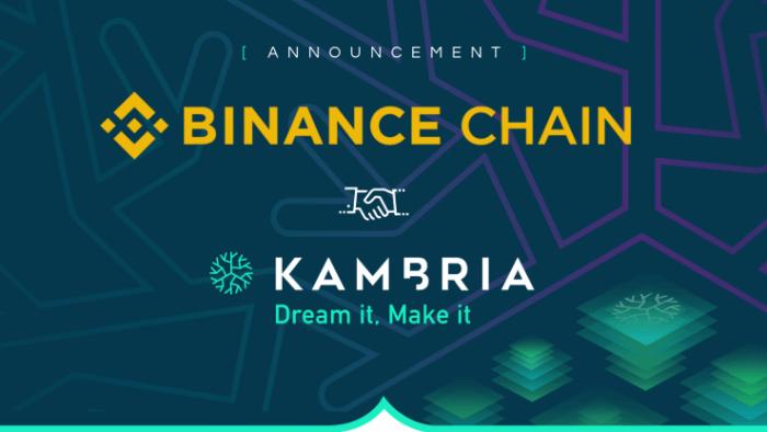 giá bitcoin: Kambria hợp tác cùng Binance Chain để chuyển KAT từ ERC-20 sang giao thức token BEP2