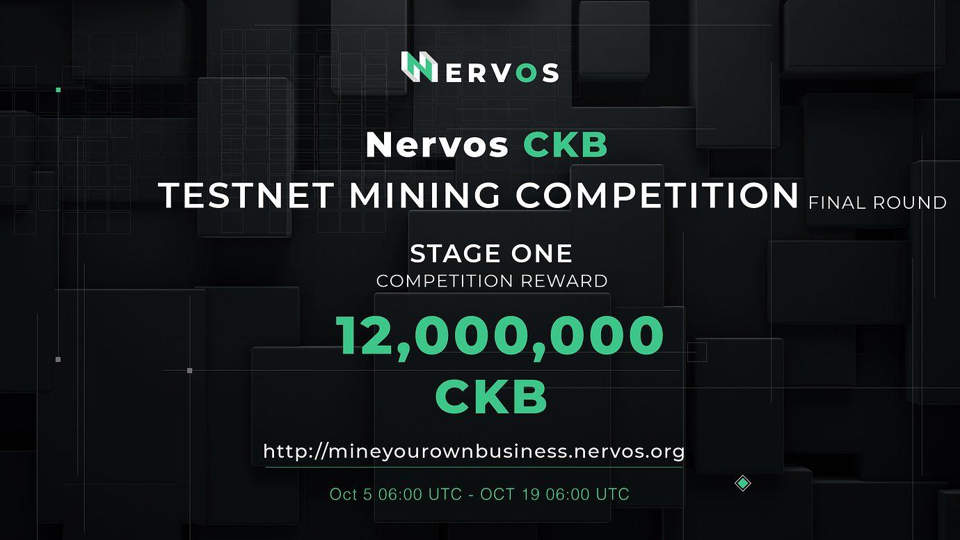 giá bitcoin: Vòng chung kết cuộc thi mining của Nervos cùng cơ hội nhận về 12,000,000 CKB
