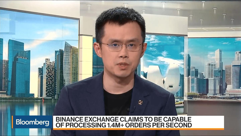 """giá bitcoin: Changpeng Zhao xuất hiện trên Bloomberg: """"Binance không thiết lập văn phòng tại Bắc Kinh"""""""
