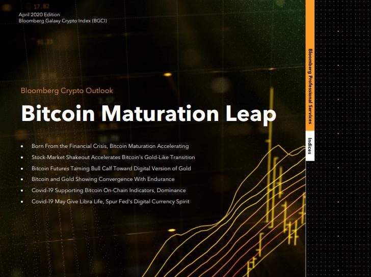 giá bitcoin: Bloomberg dự báo Bitcoin đang có xu hướng lặp lại lịch sử năm 2017