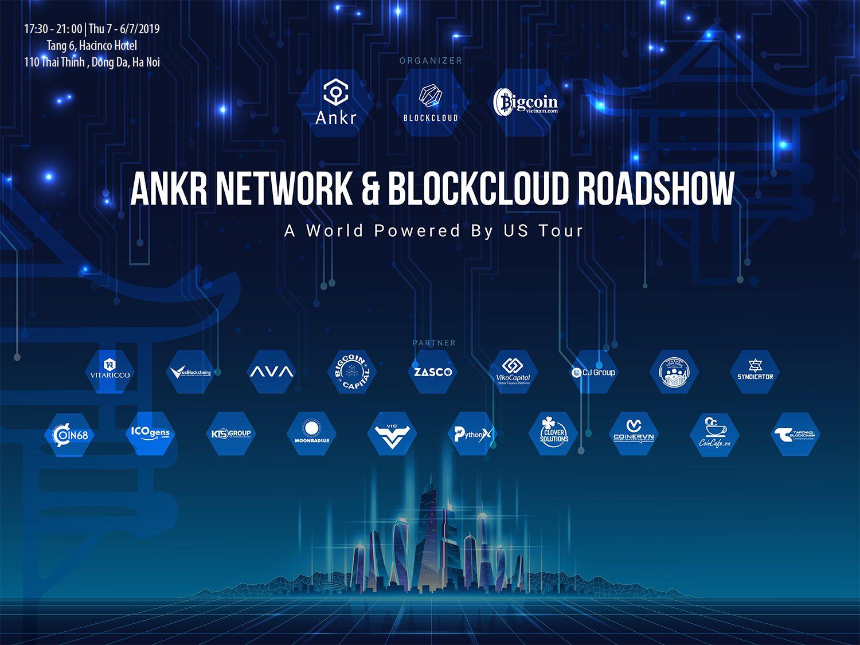 giá bitcoin: Sự kiện Ankr Network & Blockcloud Roadshow tại Hà Nội