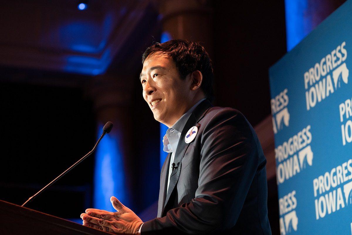 giá bitcoin: Ứng viên Tổng thống Mỹ 2020 Andrew Yang công bố đề xuất quy định liên bang về quản lý tiền điện tử