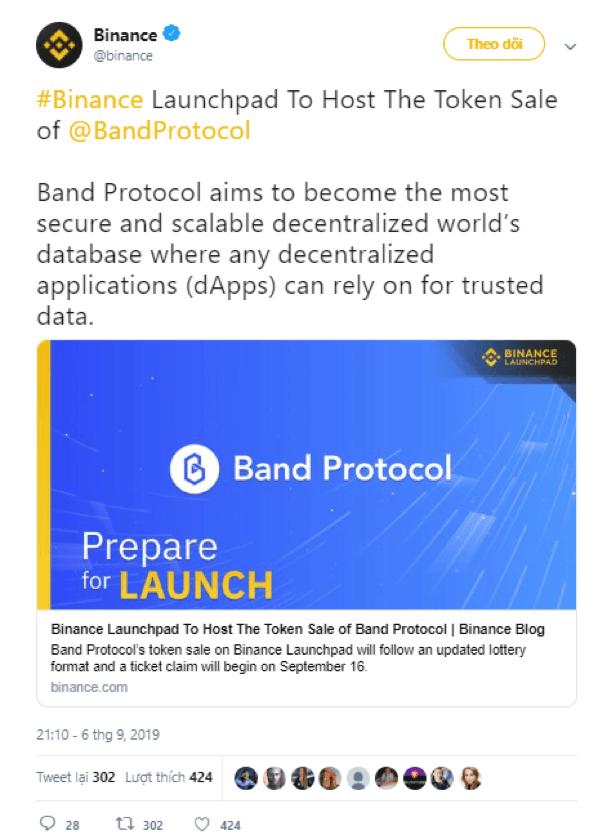 giá bitcoin: Band Protocol (BAND) là gì? Thông tin chi tiết về đồng tiền điện tử BAND