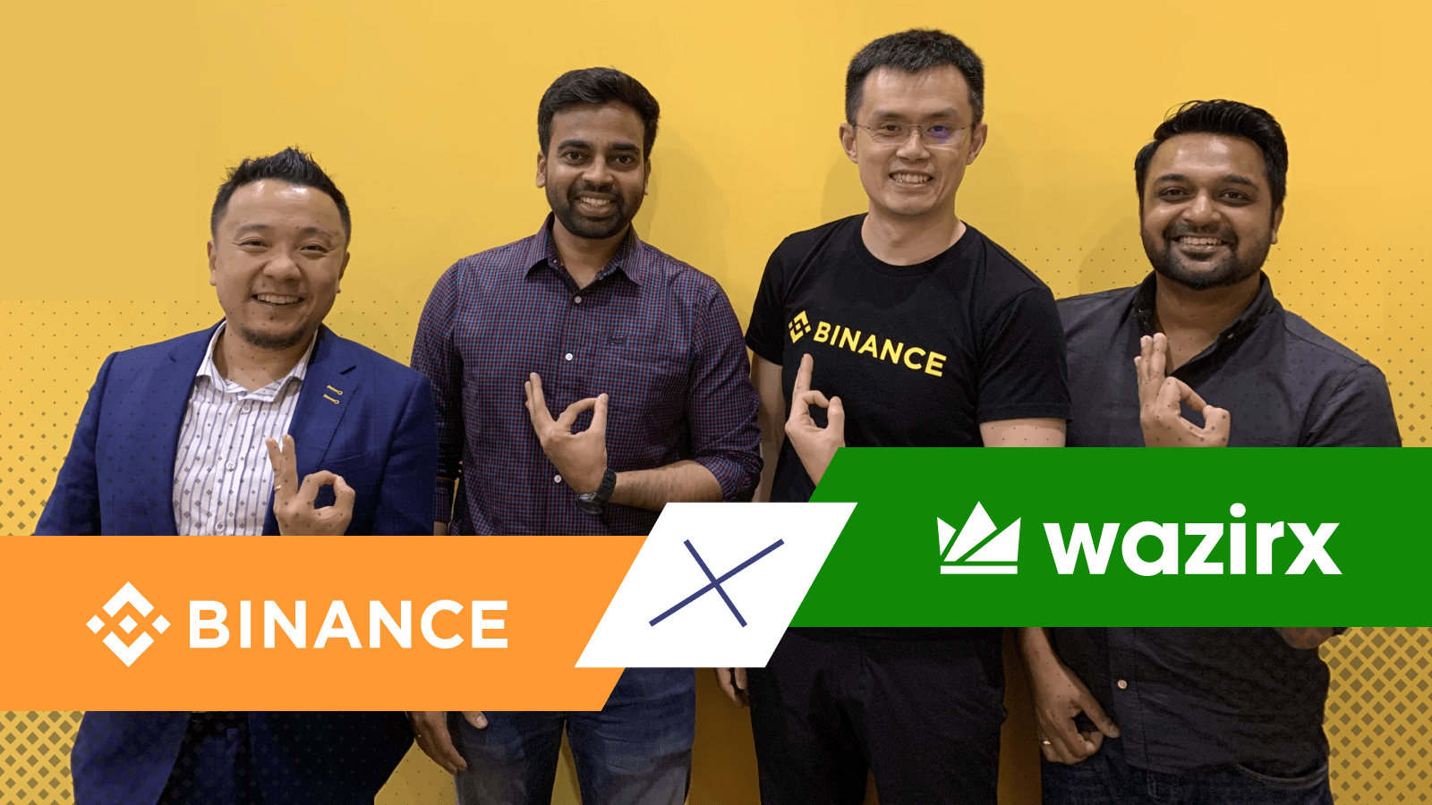 giá bitcoin: Binance mua lại nền tảng giao dịch tiền mã hoá WazirX hàng đầu Ấn Độ