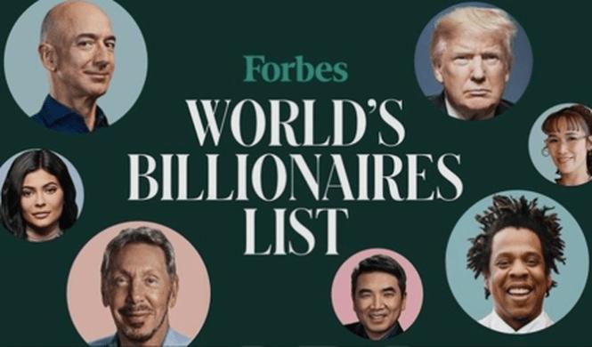 Danh sách tỷ phú của Forbes 2020 chỉ có 4 người thuộc lĩnh vực tiền điện tử