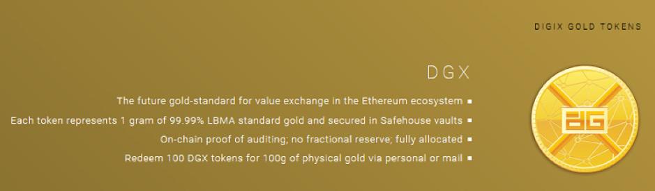 giá bitcoin: Digix Gold Token (DGX) là gì? Thông tin chi tiết về Digix Gold Token (DGX)