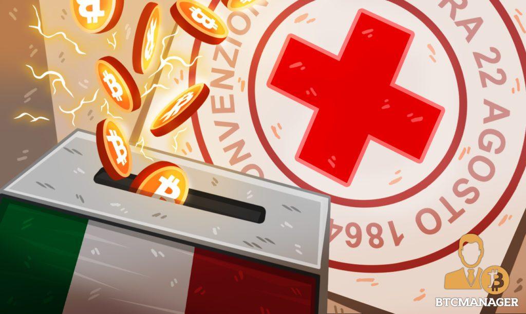 Hội chữ thập đỏ Ý nhận được 32 000 USD bằng Bitcoin để đối phó với dịch Covid-19