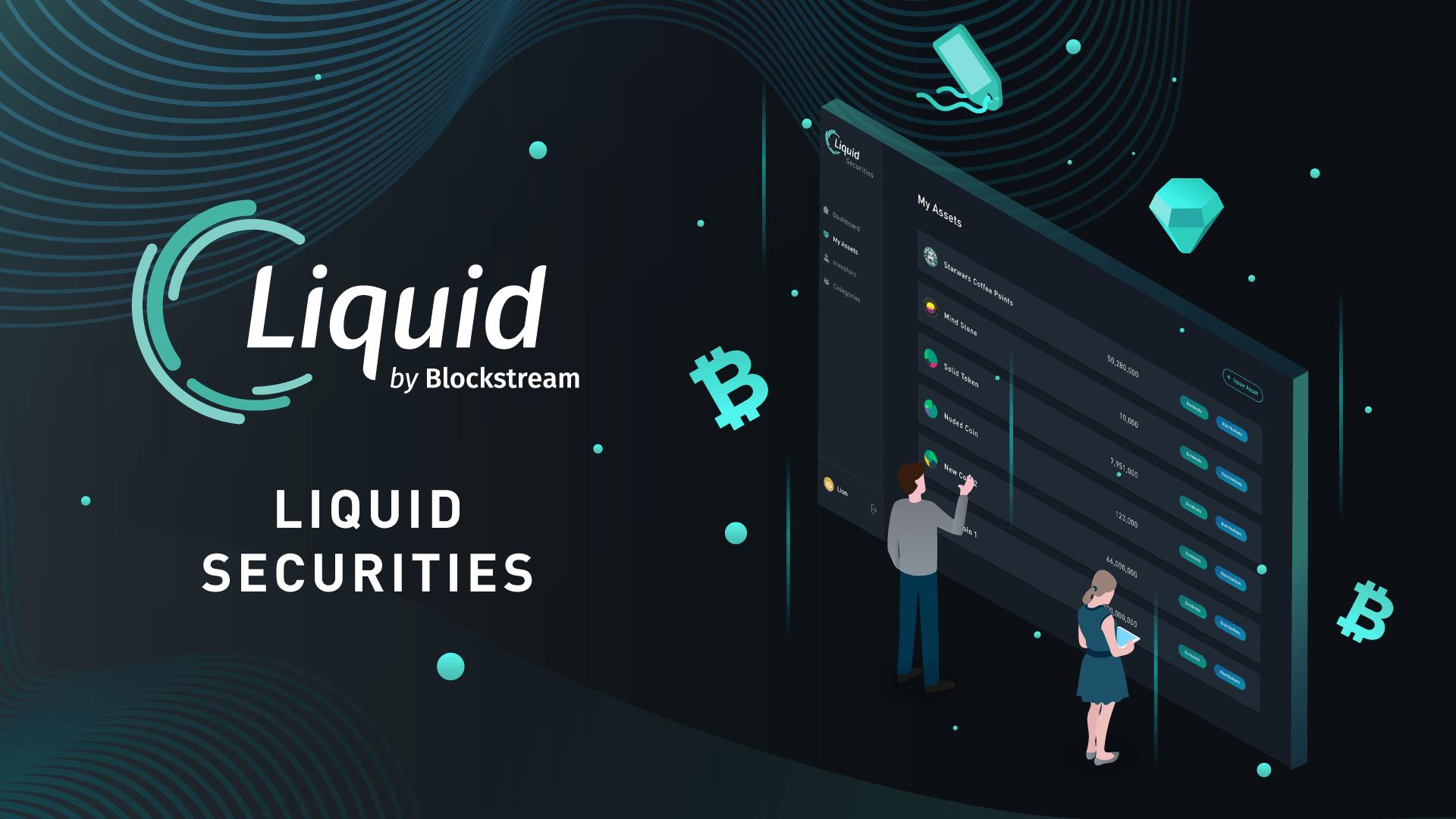 giá bitcoin: Blockstream ra mắt nền tảng phát hành token chứng khoán trên sidechain Liquid của Bitcoin