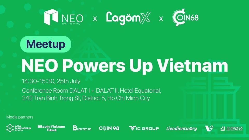 giá bitcoin: NEO Vietnam meetup: Sự kiện ra mắt cộng đồng Việt Nam tại TP HCM