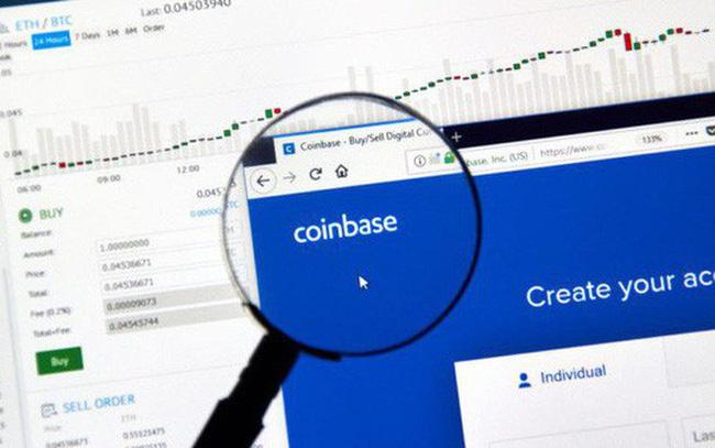 giá bitcoin: Sàn tiền ảo Coinbase được định giá ở mức 8 tỷ USD