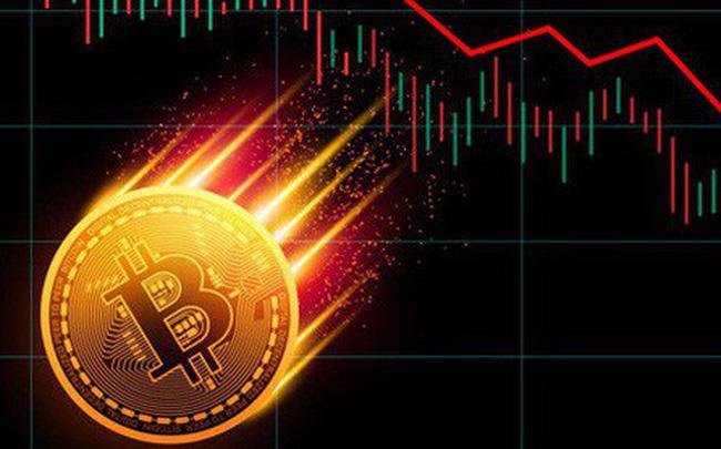 giá bitcoin: Tiền ảo rực đỏ, Bitcoin rơi tự do