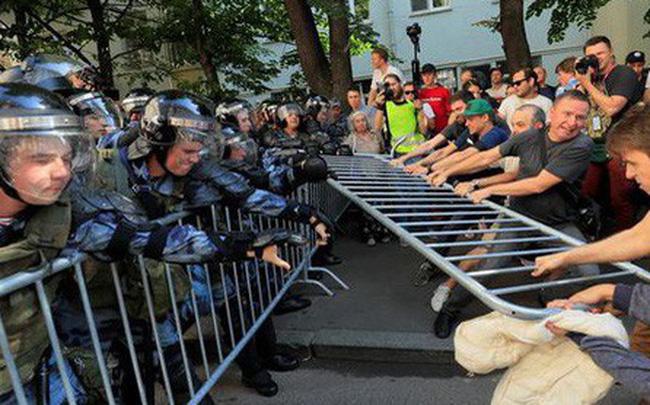 giá bitcoin: Biểu tình lớn ở Nga: Những hình ảnh