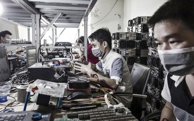 giá bitcoin: Cổ phiếu blockchain Trung Quốc tăng kịch trần, truyền thông nhà nước cảnh báo