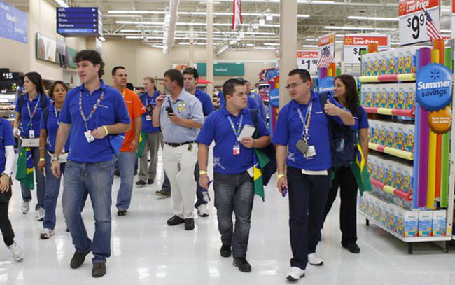 giá bitcoin: 15 công ty đông nhân viên nhất thế giới, Walmart tiếp tục dẫn đầu