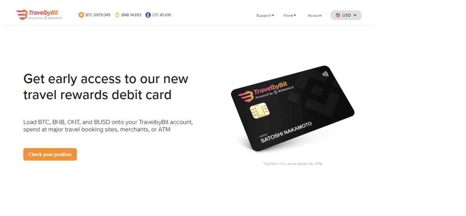 giá bitcoin: Binance hợp tác với TravelbyBit để ra mắt thẻ tích điểm thưởng du lịch bằng tiền mã hoá