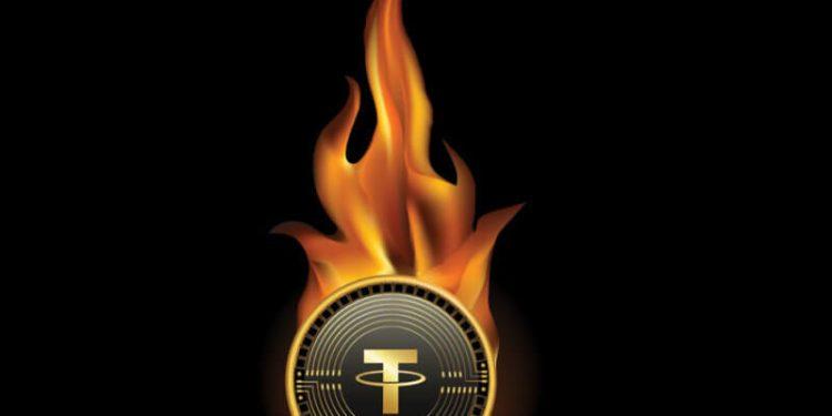 """giá bitcoin: Tether đốt 740 triệu USDT trong khi chỉ """"in"""" 200 triệu USDT"""