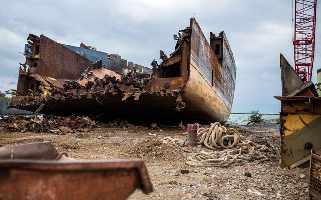 giá bitcoin: Cận cảnh nơi hóa kiếp những con tàu chở hàng khổng lồ