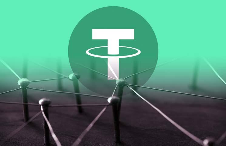 giá bitcoin: Blockchain Tron chiếm khoảng 12% tổng số Tether sau đợt hoán đổi chain
