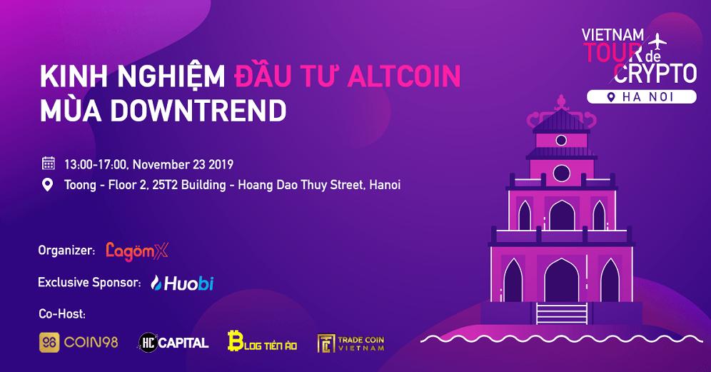 giá bitcoin: Chinh phục Altcoin cùng hành trình Vietnam Tour De Crypto