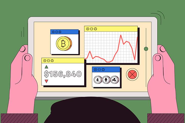giá bitcoin: Kinh tế qua hoạt hình: Bitcoin chờ đợi điều gì ở năm tới?