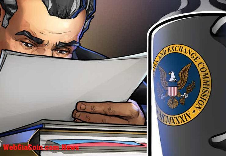 Ủy viên SEC nói rằng luật